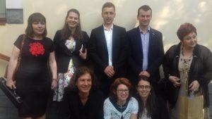 Dr Judit Finna with some of her lovely Medicare team of nurses